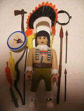 playmobil PLAY BIG AIRGAM BOYS airgamboys NEUF far west Indien Chef Chief