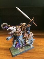 Vampire Counts Lord  Von Carstein Mounted  Very Well Paint Warhammer Metal OOP