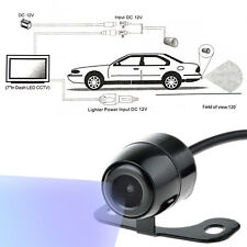 170 mini Car Rear View Reverse Camera Kit BackUp HD Color CCD Waterproof