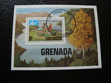 GRENADE - timbre bloc 1975 obl (scout) (Z3) stamp grenada
