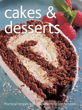 Cakes and Desserts by Flame Tree Publishing (Spiral bound, 2007)