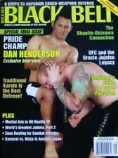 8/06 BLACK BELT MAGAZINE DAN HENDERSON JUJUTSU BLACK BELT KUNG FU MARTIAL ARTS