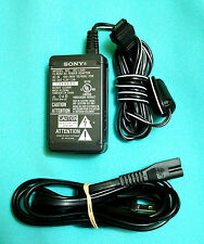 Ac-Lm5A Oem Sony Ac-Lm5 Adapter Charger Handycam & Cybershot Cameras B2.6