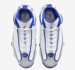 Jordan Pro Strong White/Blue/Gray 7.5-13