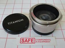 Titanium 0.42X AF Super Wide Angle Converter Hi-Res Lens Filter Mnt 46mm MM-533