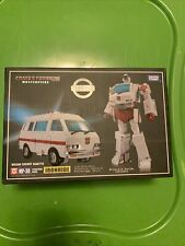 transformers masterpiece ko mp-30 Says Ironhide But Is Ratchet Some Box Creases
