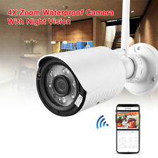 WiFi IP Camera HD 1080P Network 4X Zoom Security Motion Detection Outdoor Mini