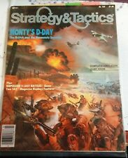 STRATEGY & TACTICS 102-MONTY'S D-DAY NORMANDY INVASION Game-New/UNPUNCHED