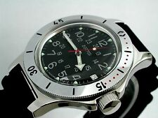 RUSSIAN  VOSTOK AUTO AMPHIBIAN WATCH  FOR DIVING #12783 NEW