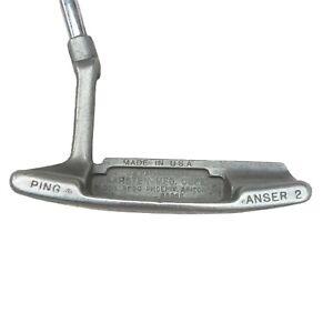 "Ping Anser 2 Putter 35"" Right Handed Vintage Custom Grip"