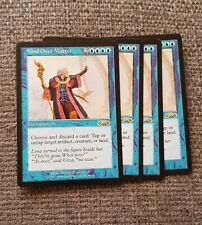4x MTG Mind Over Matter - Blue Exodus Magic The Gathering Rare Mint Condition