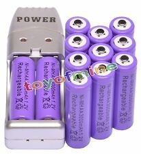 12x AA 2A 1.2V Ni-MH 3000mAh Rechargeable Battery for Mp3 RC Toys + USB Charger