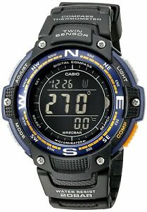 Casio PRO TREK Men's Watch SGW-100-2BER Tough Outdoor Compass Digital Sport