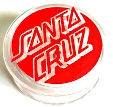 Santa Cruz Classic Dot Grinder - Clear - skate surf snow bmx weed bud ganja sk8