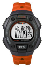 Timex Unisex Ironman Chronograph Resin Digital Orange Watch 5K862