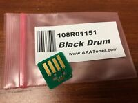 108R01151 Black Imaging Unit Drum Chip for Xerox Phaser 7100 Tabloid Refill
