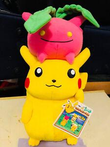 "Pokemon Plush Hoppip Pikachu DX Friends Big 13"" Banpresto UFO doll figure Toy"