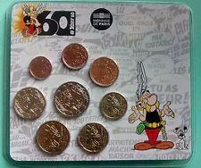 France 2019   Miniset Asterix  de 1 ct à 2 €    Rare 500 exemplaires