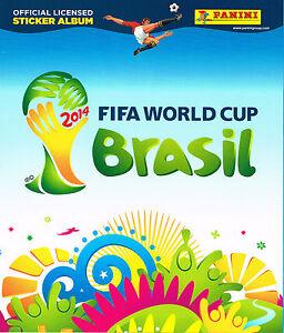 Panini ALBUM - Italy Free Italian Version - Brazil World Cup 2014 - New AIB