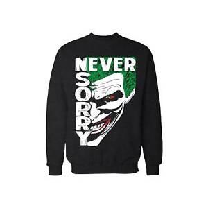 Never Sorry funny Joker face Inspired by Joker movie  Unisex Jumper pullover