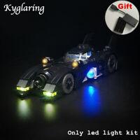 Kyglaring LED Light for LEGO 40433 1989 Batmobile Mini Version Car + Battery Box
