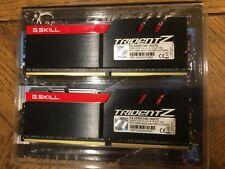 G.SKILL TridentZ 16GB (2x8GB) DDR4 3200 CL14 Desktop Memory F4-3200C14D-16GTZ