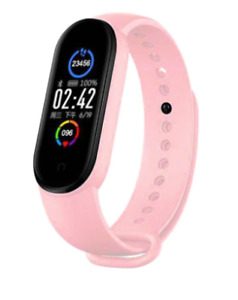 M5 Smart Bracelet Bluetooth Sport Fitness Tracker Heart rate monitor waterproof