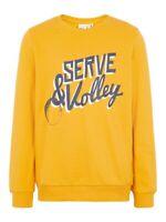 NAME IT Jungen Pullover Sweatshirt NKMVildar gelb Größe 116 bis 158/164