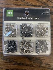 Making Memories Metallic Mini Brad Pack