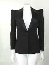 Balmain Noir Blazer Jacket FR40 UK12