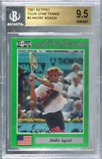1991 NetPro Tour Stars Andre Agassi #3 BGS 9.5