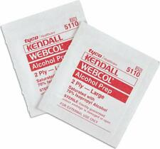 10 x ALCOHOL WIPES / SWABS / SCREEN CLEANER sterile MEDI SWABS