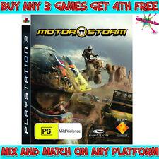 MOTORSTORM Game (Playstation 3, PS3) Australian PG Rating