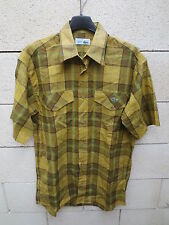 Chemise LACOSTE Devanlay kaki 38 manches courtes poche made in France