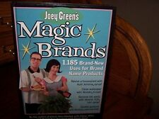 Joey Greens Magic Brands - 1,185 Brand-new Uses For Brand Name Products by Joey