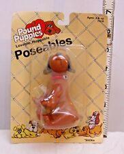 TONKA POUND PUPPIES POSEABLES BULLDOG NEW ON CARD 1985 7816
