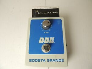 BBE Boosta Grande Booster Boost Effects Pedal Free USA Shipping