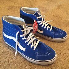 vans 721461. vans sk8-hi (suede/canvas) imperial blue, 721461