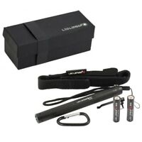 LED Lenser P4 - 18 Lumens adjustable focus - Professional torch with belt pouch