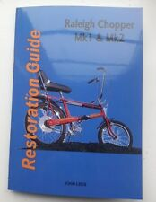 "NEW LOOK - RALEIGH CHOPPER ""HOW TO"" RESTORATION BOOK - SIGNED"