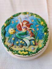 Vintage Disney Little Mermaid Fruit Bonbon Tin