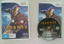 Iron Man [IronMan] (Nintendo WII Game) Complete - Pal - Fast Free Post! VGC!