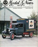 "1928 ""AA"" Railway Express Truck - Model ""A"" News - 1997 Vol.44 No 2 Magazine"