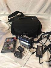 Sony Digital Video Camera Recorder Handycam + Nightshot DCR-DVD300 + Bag Bundle