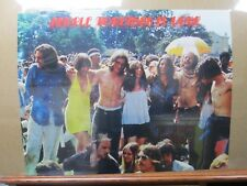 Vintage 1970 Woodstock Poster People Together is LOVE  inv#G540