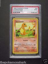 Pokemon PSA 9 SHADOWLESS CHARMANDER 46/102 BASE SET - MINT