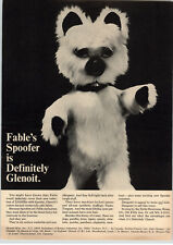 1967 PAPER AD Glenoit's Stuffed Toy Fable's Spoofer