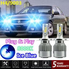 For Holden Commodore VR VS 1993-1997 Headlight Globes Hi/Low Beam LED Bulb 8000K