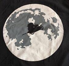 Harry Potter Hagrid Flying Shirt Full Moon Large Blue Hogwarts L Motorcycle