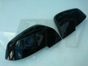 GLOSS BLACK MIRROR COVERS CAPS for BMW 4 SERIES 2013-2020 F32 COUPE F33 CONV F36